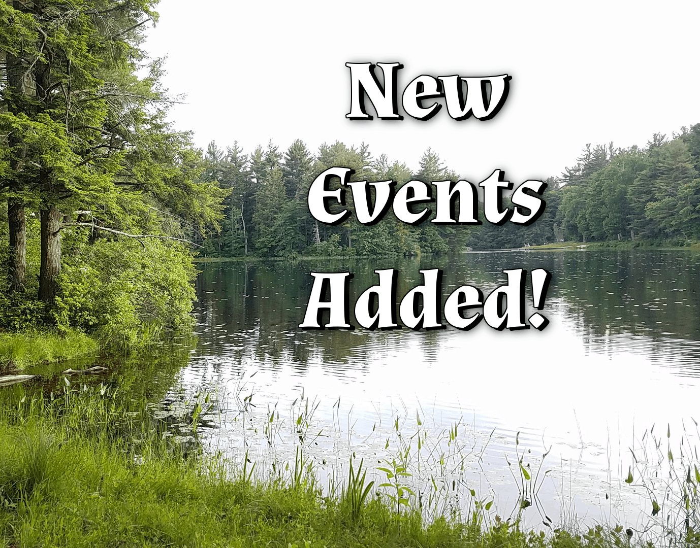 New Events Added!